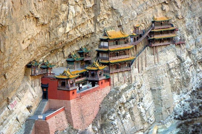2-Day Private Datong Tour:Hanging Temple, Yugang Grottoes,Wooden Pagoda and More