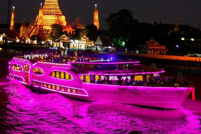 Wonderful Pearl Dinner Cruise at Chao Phraya River (optional Transfers)