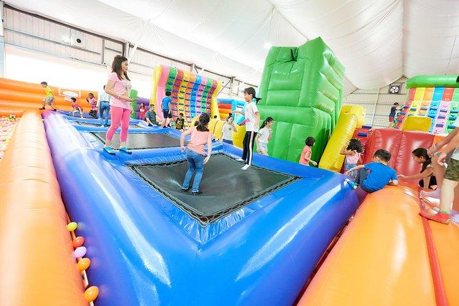 Singapore's Largest Mega Bounce Playground (Indoor)