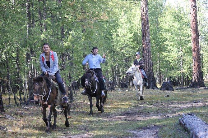 7Days Horse Trekking to Mongolian Heartland from Kharkhorin ancient capital city