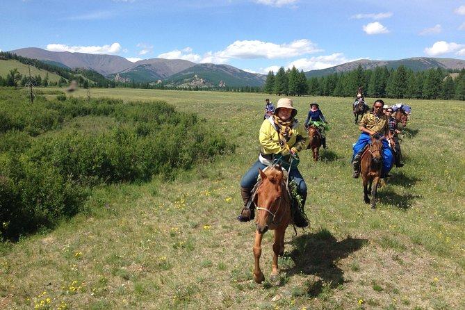 3 Days Horse Trekking to Terelj National Park