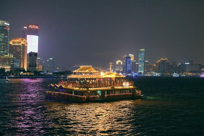 Shanghai Private Night Tour with Huangpu River Cruise, the Bund and Xintiandi photo 9