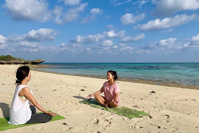 Beach yoga to feel nature and the earth on Ishigaki Island