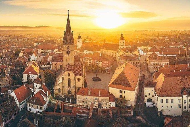 Private Tour from Bucharest to Sibiu Cozia Monastery Valea Zanelor Lut Castle