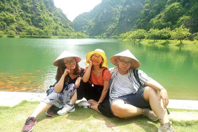 Hanoi - Ninh Binh ( Hoa Lu - Tam Coc ) trip with Hanoi cyclo ticket 60 '