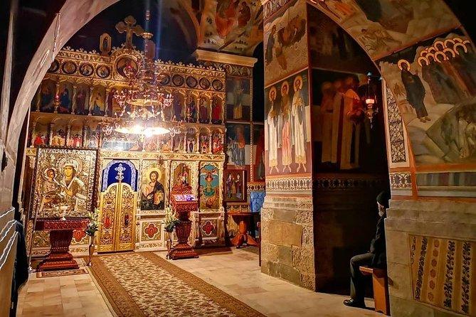 Private Tour Bucharest to Sibiu Cozia Monastery Valea Zanelor Lut Castle by VAN