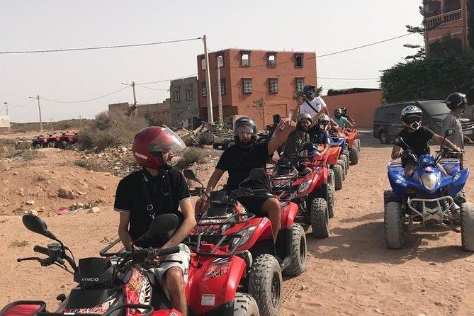 Quad Biking tour in mini Sahara desert