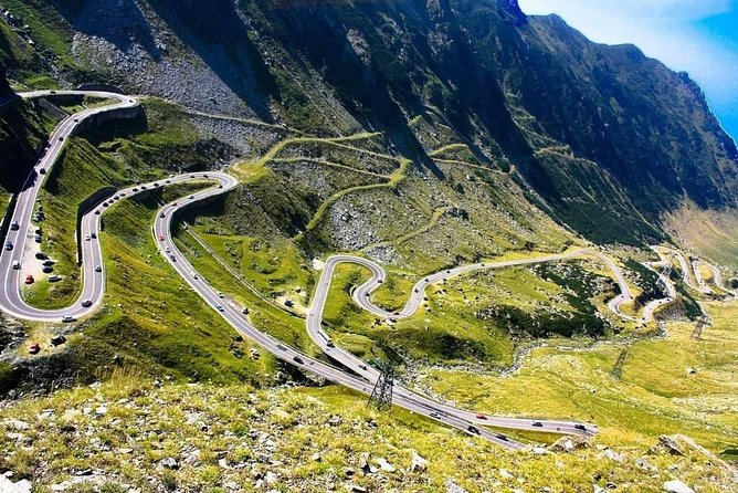 Private Tour from Bucharest to Transfagarasan Road Poenari Castle Vidraru Dam