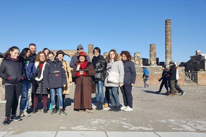 Naples city tour + Pompeii + Cantine del Vesuvio (FullDay 8hrs)