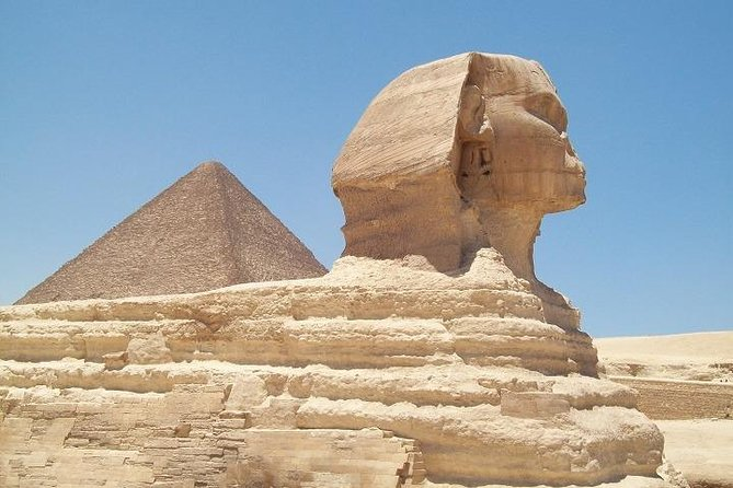 Full day visit of Giza Pyramids, Egyptian Museum and Bazaar