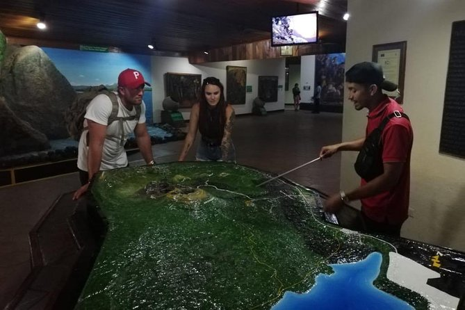 Visit at museum located in the national park Masaya volcano
