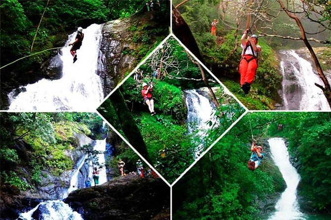 Mega Zipline over 11 Waterfalls at Adventure Park Vista Golfo