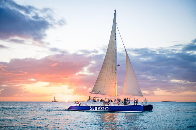 Key West Dolphin Watch Sunset Sail with Premium Wine, and Tapas Pairings