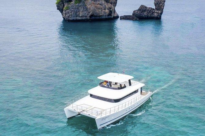 Luxury Sunset Cruise at Krabi's Coastlin with Power Catamaran