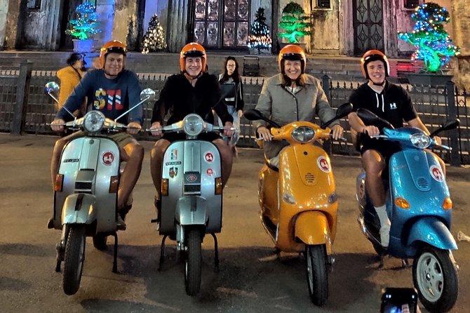 Vespa After Dark Tour in Hanoi