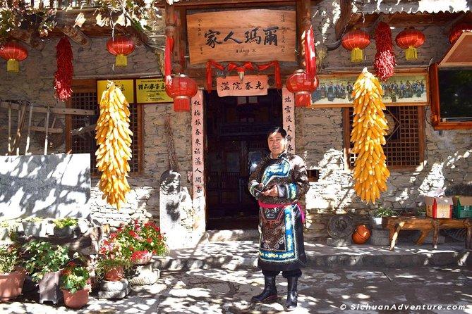 Walk Tour to Taoping Qiang Minority Village and Yingxiu Earthquake Relics