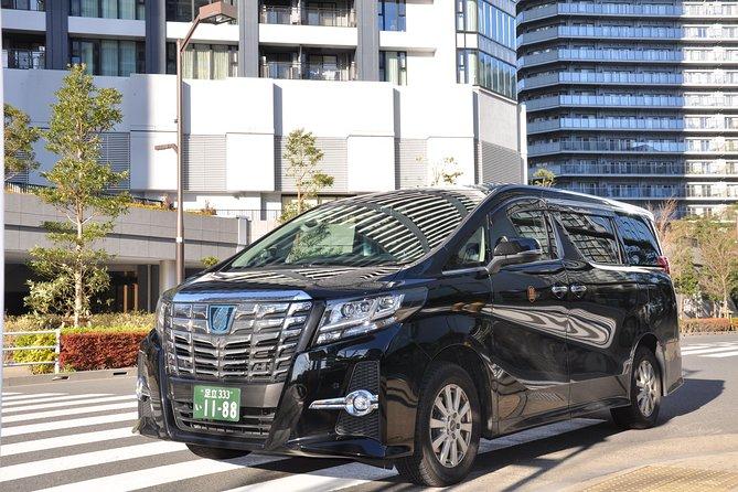Haneda airport transfer Toyota Alphrad 6 seats