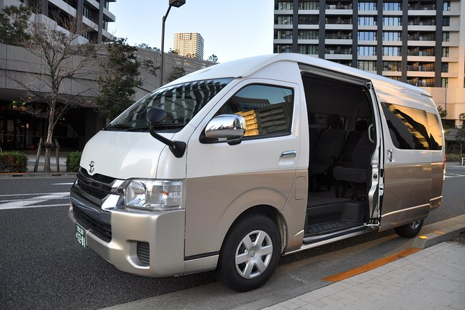 Yokohama INT Passenger Terminal transfer Toyota Hiace Extended version 9 seats photo 6