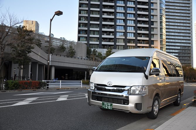 Yokohama INT Passenger Terminal transfer Toyota Hiace Extended version 9 seats photo 12