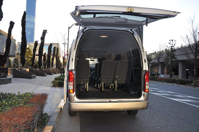 Yokohama INT Passenger Terminal transfer Toyota Hiace Extended version 9 seats photo 13