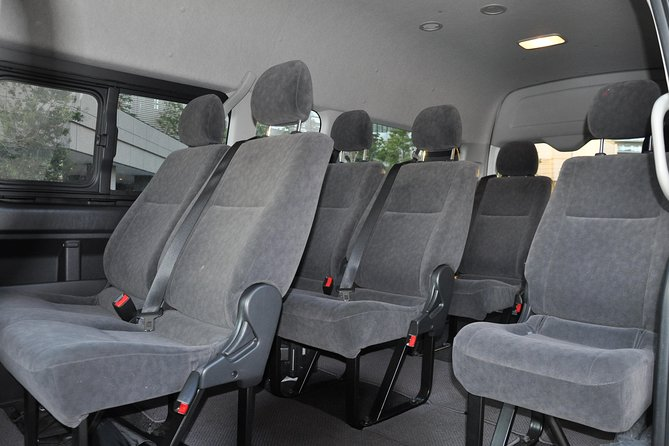 Yokohama INT Passenger Terminal transfer Toyota Hiace Extended version 9 seats photo 9