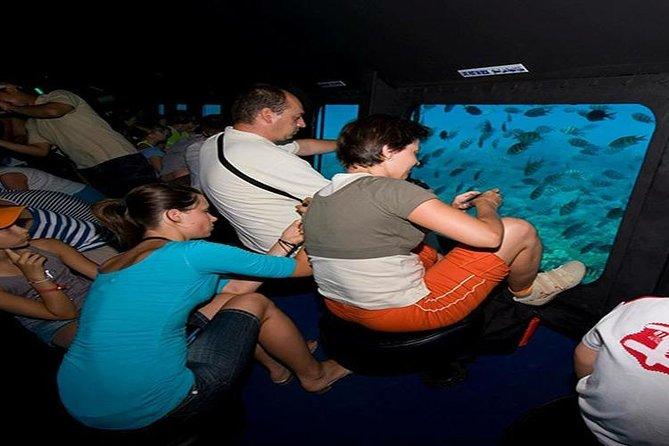 semi-submarine under water Hurghada Red Sea trip