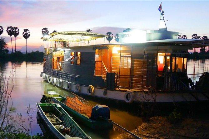 Phnom Penh to Battambang Tone Sap cruise 1 way on sleeper boat - 3 days-2 nights