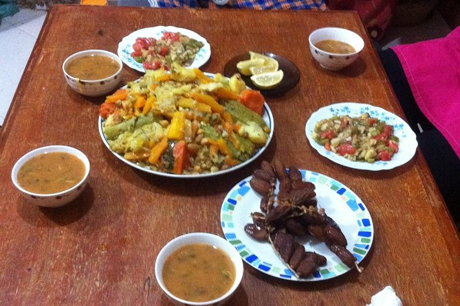 Traditional Local Moroccan Home Cook