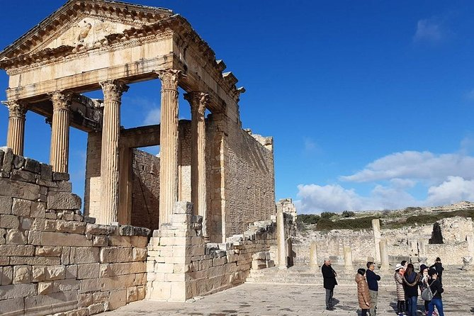 Special Roman town DOUGGA through the Andalusian city Testour