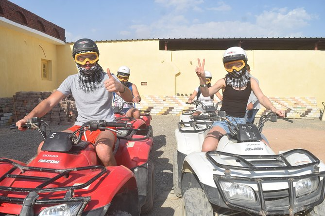Hurghada 3-Hour Desert Safari Quad Bike and Camel Ride