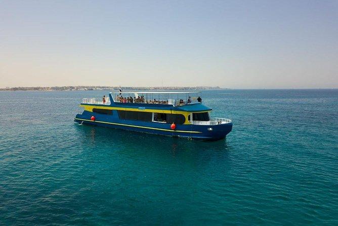 Paradise Catamaran Semi Submarine & Snorkeling Sea Trip - Hurghada