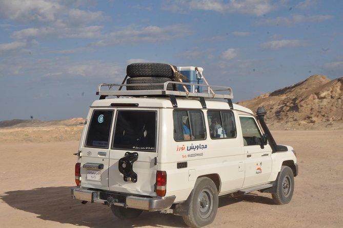 Hurghada Jeep Safari, Bedouin Village Tour and Camel Ride