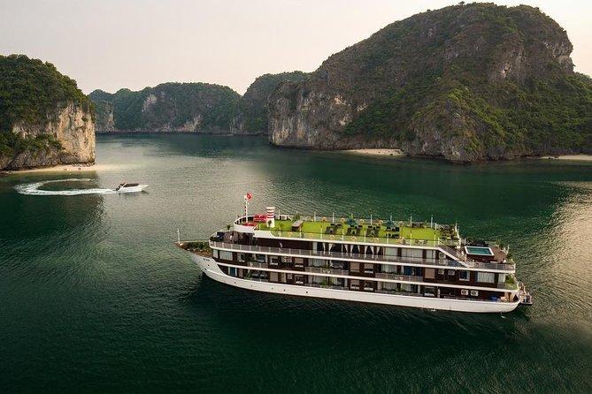 Dora Cruise - Ha Long Bay & Lan Ha Bay 2 Days 1 Night Luxury Tour