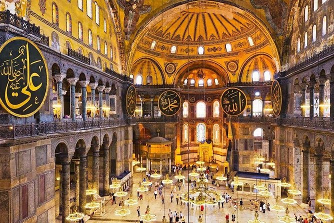 Istanbul Morning: Half-Day Tour with Blue Mosque, Hagia Sophia & Grand Bazaar