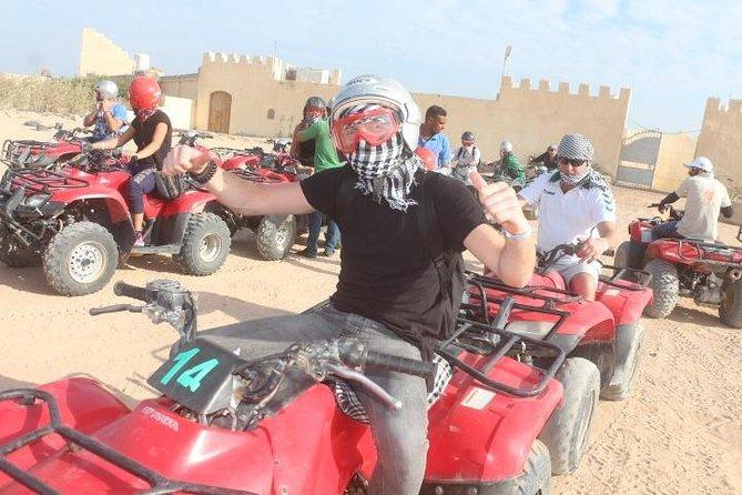 Hurghada 3-Hour Desert Safari Quad Bike and Camel Ride