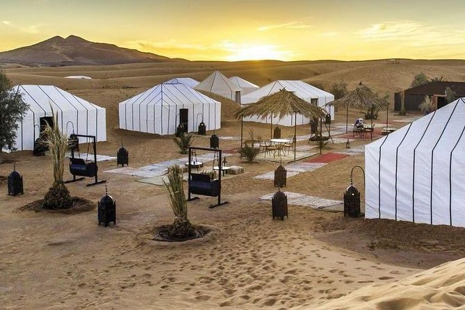 Marrakech to Sahara Desert 3 Day Private Tour with camel trip and Night in Camp