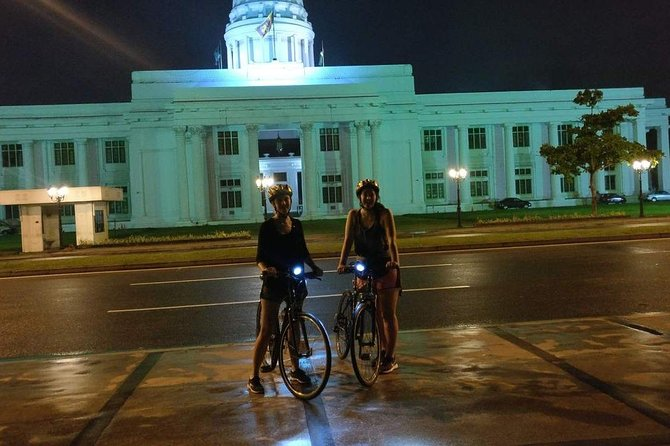 Night Cycling Tour in Colombo City
