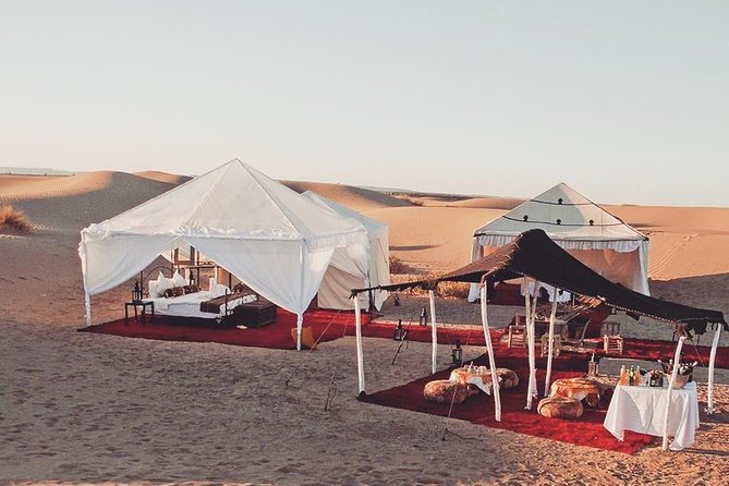 Morocco Desert Tour for 3 days with private transfers and comfortable hotel/camp