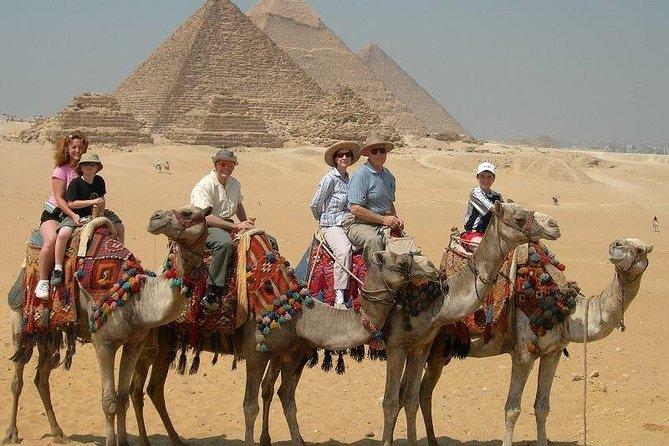Giza pyramids, Sakkara, and Dahshour day tour