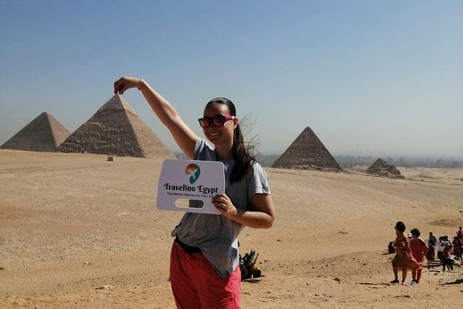 Full Day tour pyramids and Egyptian Museum