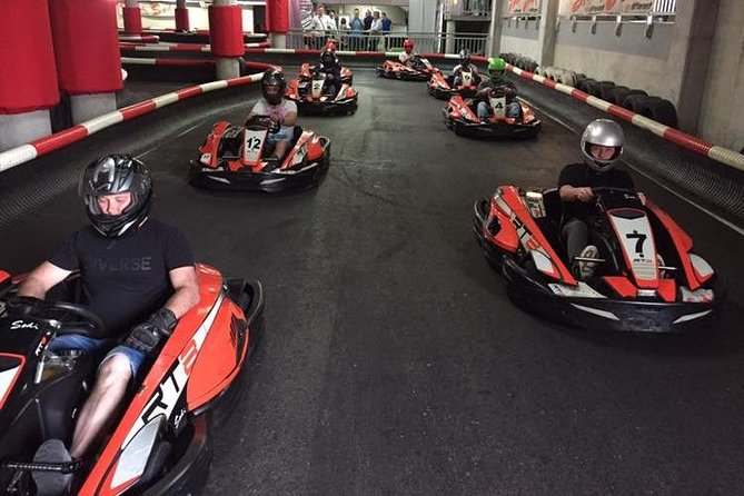 "Go-Karting Race – Speed on ""Kubica's"" Track"