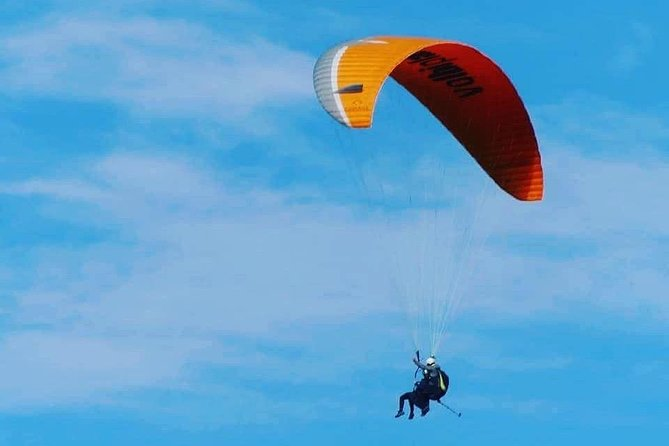 Paragliding & Day tour with camel ride from Marrakech