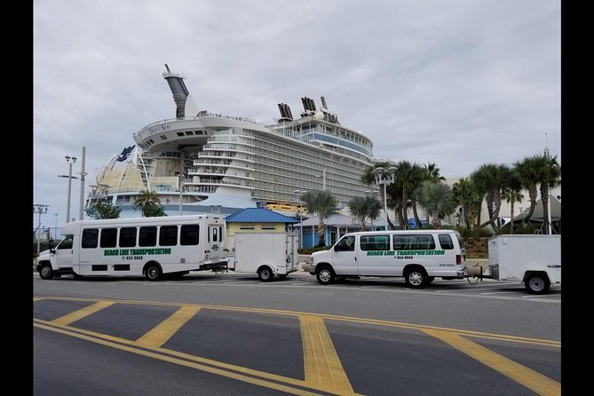 Port Canaveral/Cape Canaveral/Cocoa Beach to MCO airport/hotel (One Way Private)