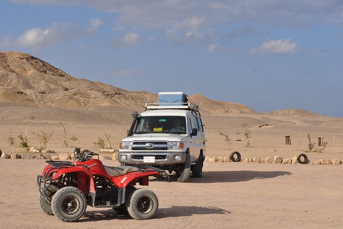 Makadi Jeep Safari,Camel Ride & Bedouin Village Tour