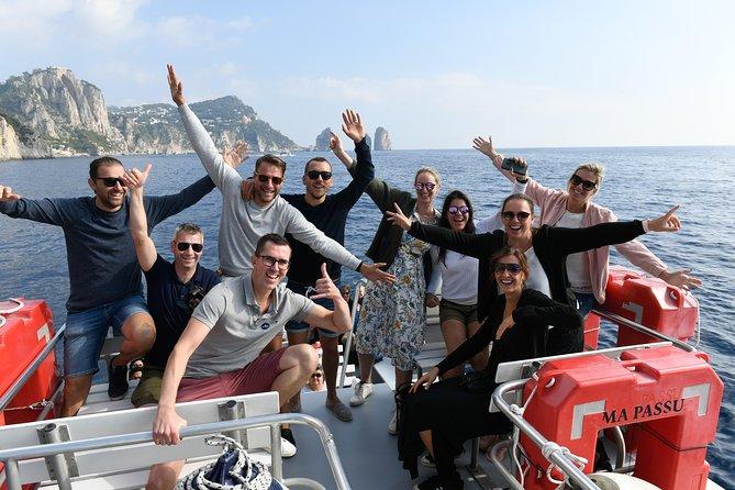 Sorrento Coast and Capri Sea View from Sorrento