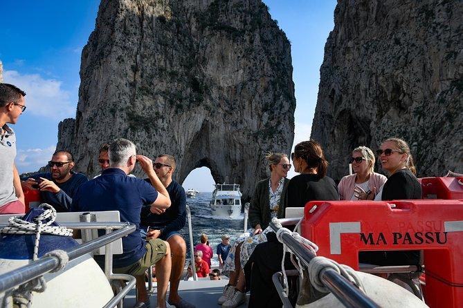 Capri Coast to Coast: Discover the Island from the Sea with Blue Grotto Option