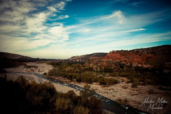 Atlas Mountains, 3 Grand valleys, Waterfalls, camel ride, berbers day trip