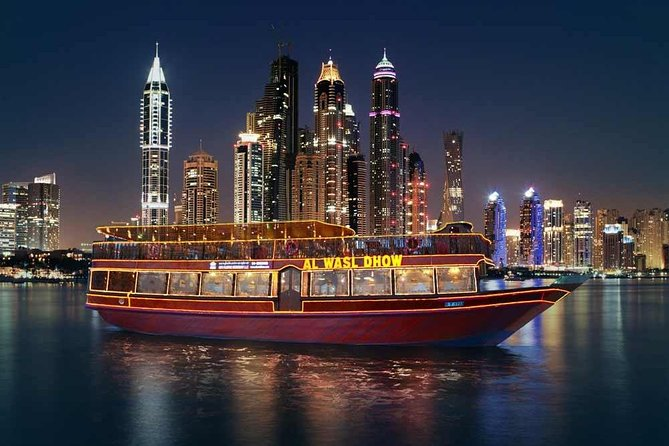 Dhow Dinner Cruise at Dubai Creek (Without Transfers)