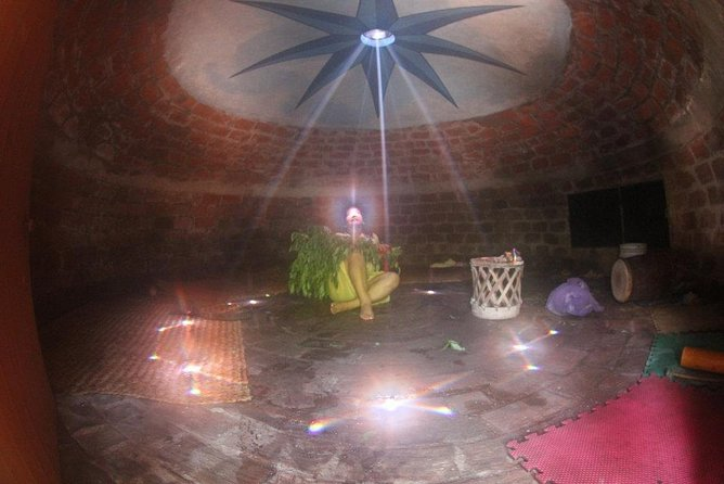 Private prehispanic sauna (Temazcal)