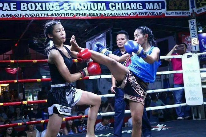 Thapae Boxing Stadium Ticket in Chiang Mai